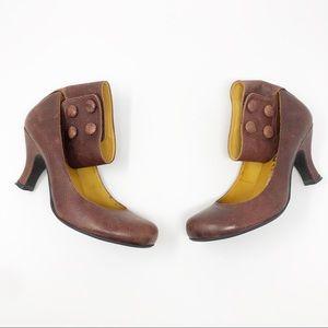 Jeffery Campbell Brown Ankle Strap Heels